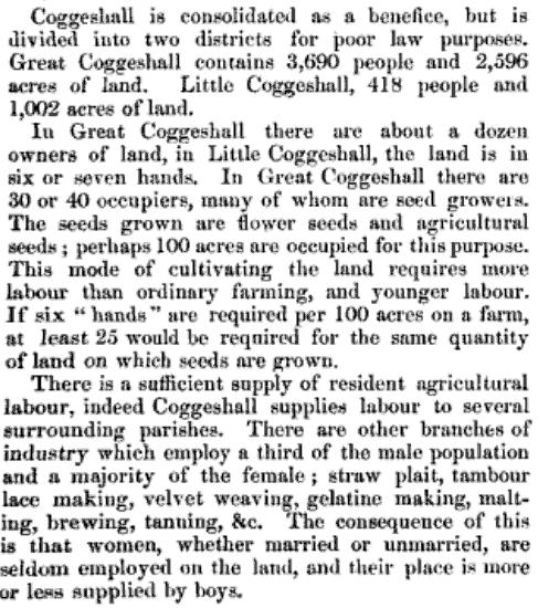 report on agriculture