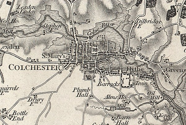 History of Colchester