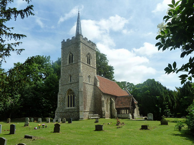Abbess Roding Church - exterior