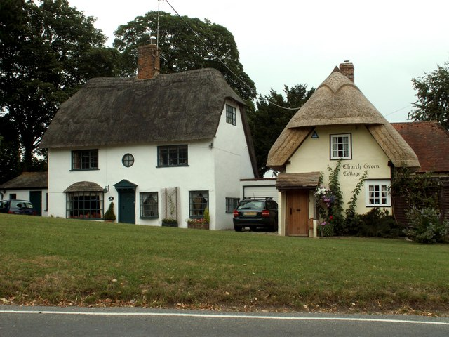 old cottages - exterior