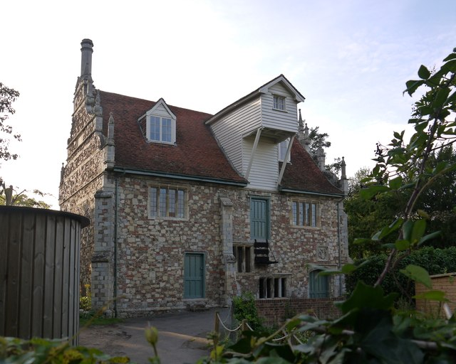 Bourne Mill - exterior