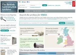 british newsapers website