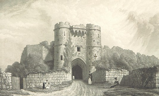 carisbrooke castle isle of wight 1850