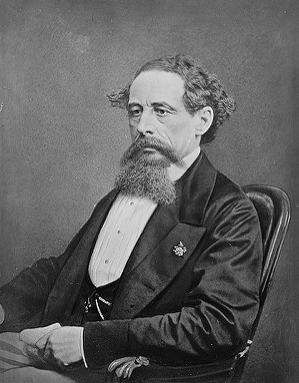 photogrpah of Charles Dickens