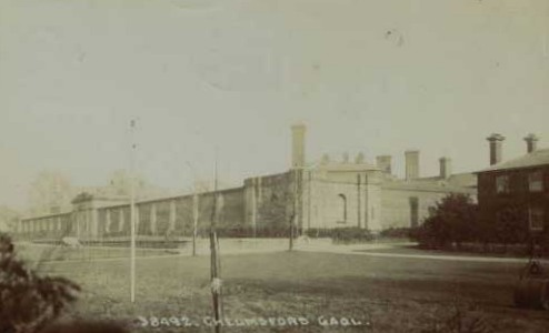 chelmsford gaol from an old postcard