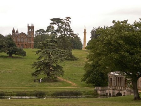 folly palladian bridge stowe