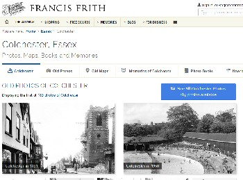 francis frith website