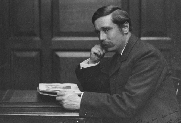 portrait of HG Wells