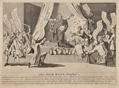 cartoon of Lord Bute