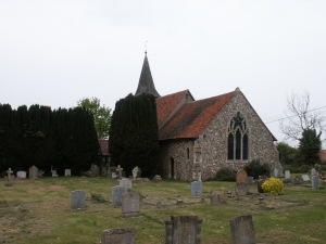 Leaden Roding Church - exterior