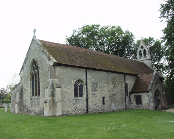 Little Chesterford Church - exterior