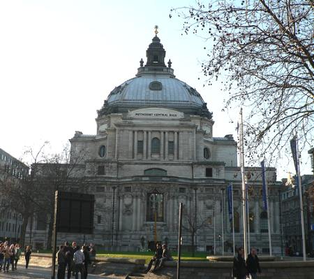 methodist central hall westminster