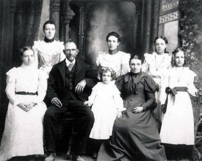 Charles Leach Binall and Mary Martha Gardiner