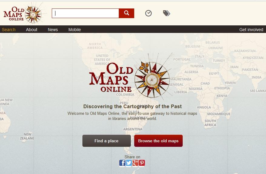 oldmapsonline.org website