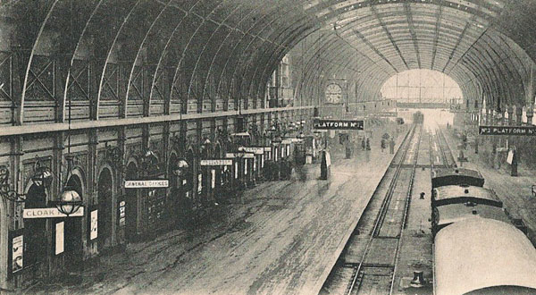 interior paddington station
