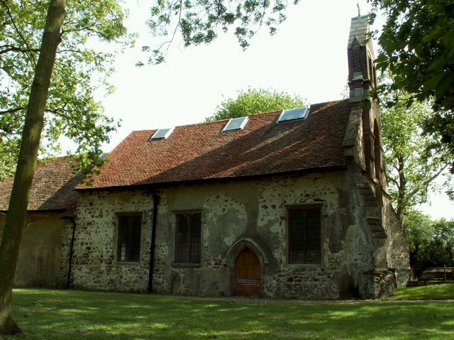 All Saints Church, Tolleshunt Knights - exterior
