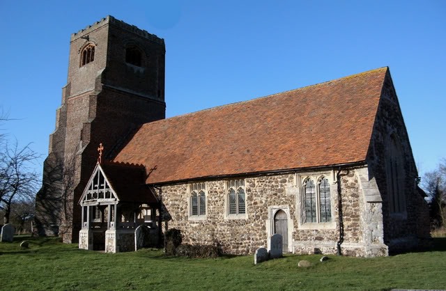 Tolleshunt Major Church - exterior