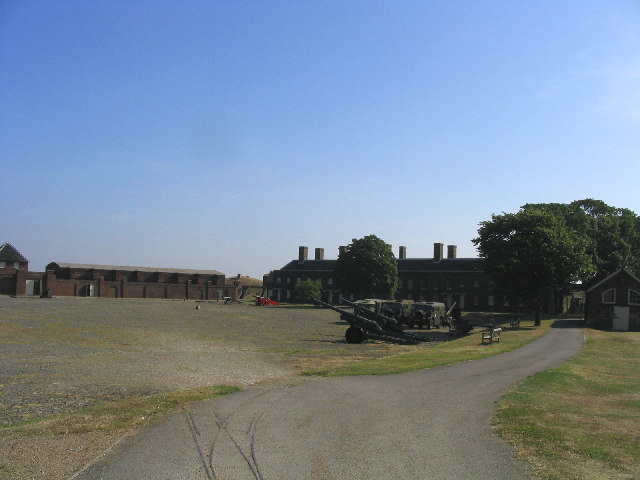 Tilbury Fort - interior