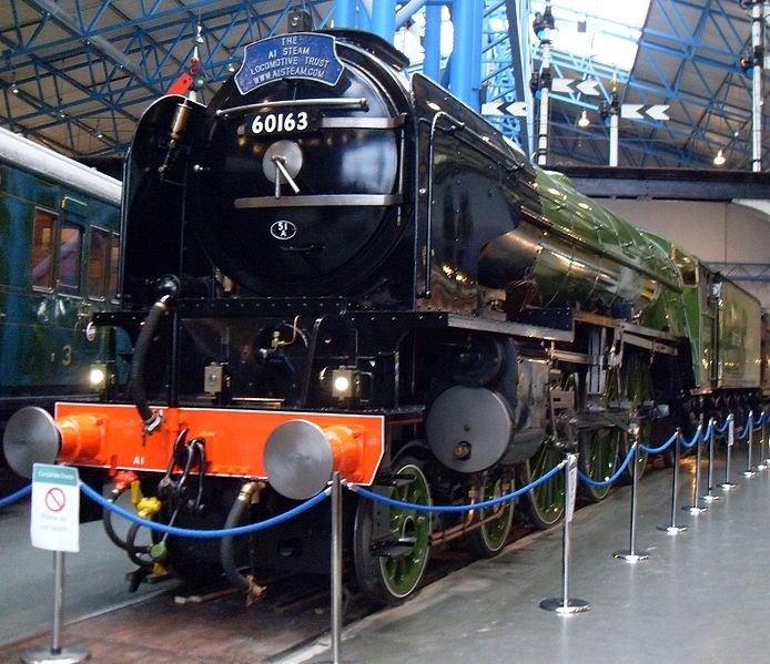The Tornado at the National Railway Museum