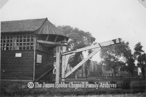 Treadmill Crane Copyright The James Hobbs Chignell Family Archives