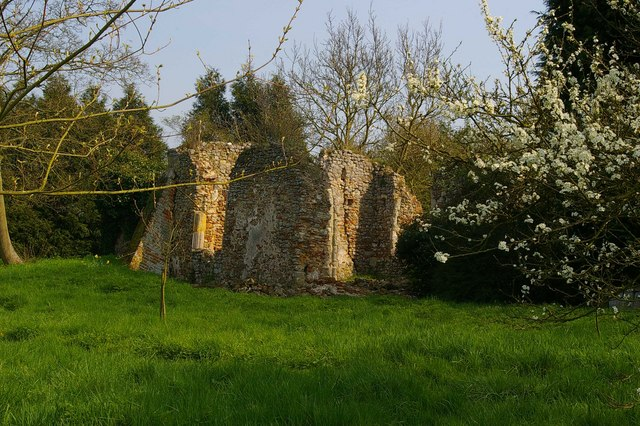 Remains of St Mary's Church, Virley