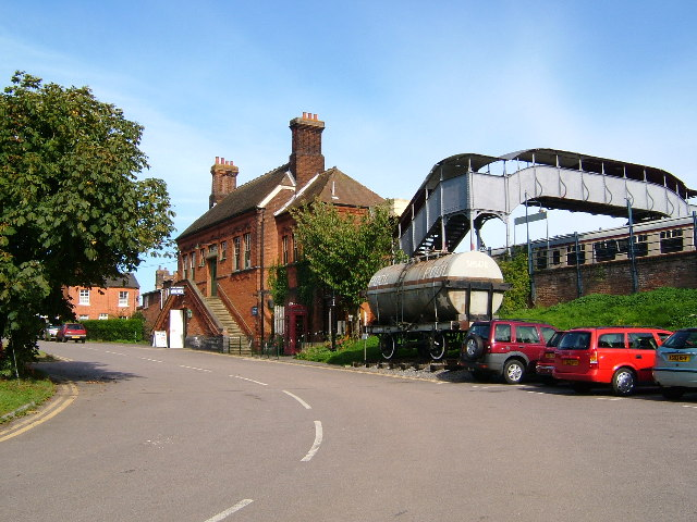 Chappel and Wakes Colne Railway Station and site of the East Anglian Railway Museum