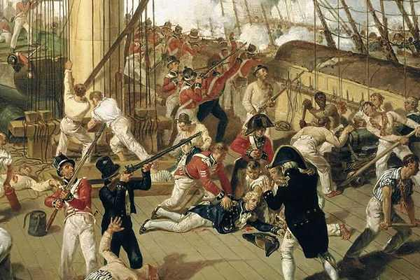battle of trafalgar, hms victory
