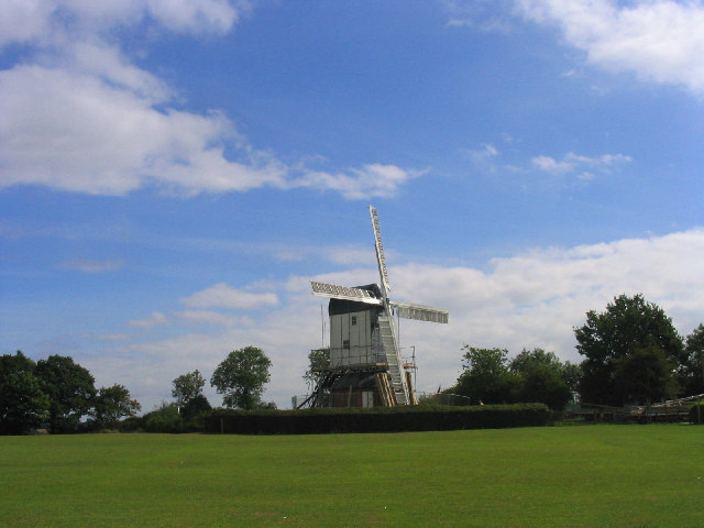 Mountnessing Windmill - exterior