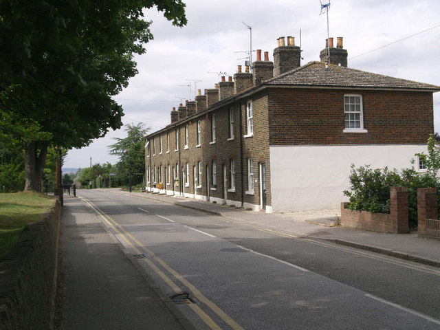 row of terraced houses - exterior