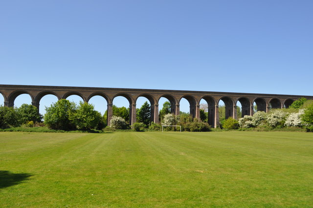 Chappel Viaduct - view