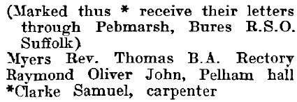Twinstead 1895 directory - list of names