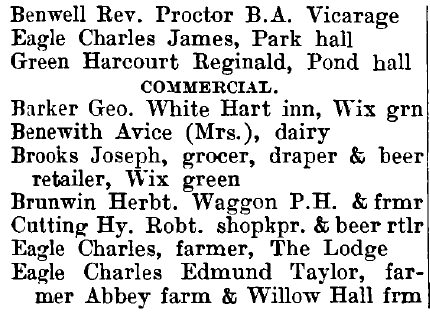 Wix 1895 directory - list of names